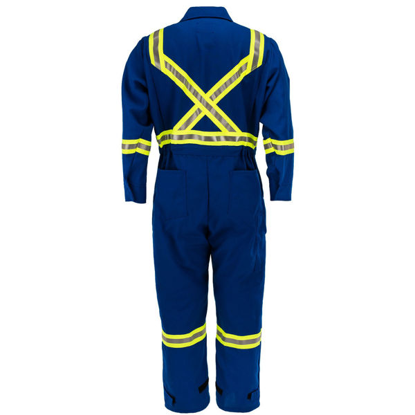 Picture of 8310C1 Deluxe Coverall - 6 oz Nomex® IIIA, Unlined w 3M Scotchlite®