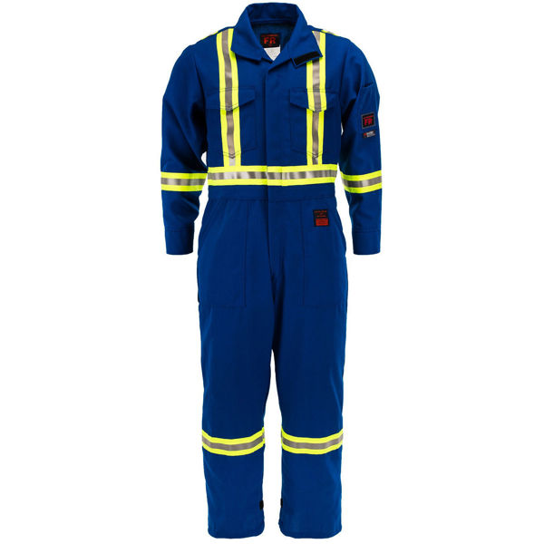 Picture of 8310C1-45 Deluxe Coverall - 4.5 oz Nomex® IIIA, Unlined w 3M Scotchlite®