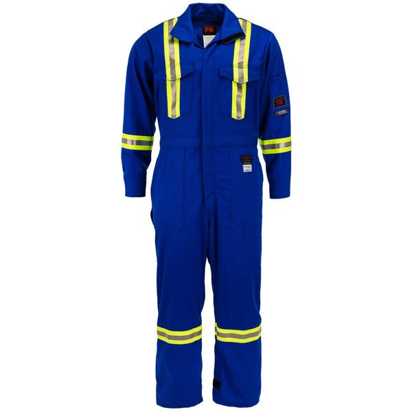 Picture of 2310R-7 Deluxe Coverall - 7 oz 88/12, Unlined w 3M Scotchlite®