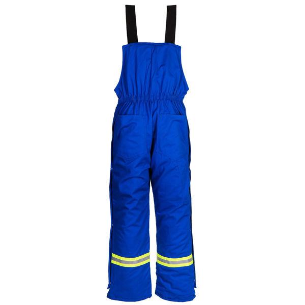 Picture of 1330EMR Bib Pant - 10 oz UltraSoft® w EPIC®, Quilt Lined w 3M Scotchlite®