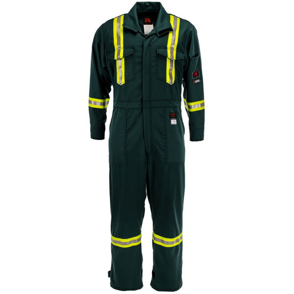 Picture of 1310R-7 Deluxe Coverall - 7 oz UltraSoft®, Unlined w 3M Scotchlite®