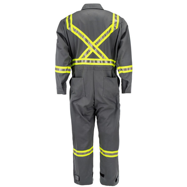 Picture of 1310C1-7 Deluxe Coverall - 7 oz UltraSoft®, Unlined w 3M Scotchlite®