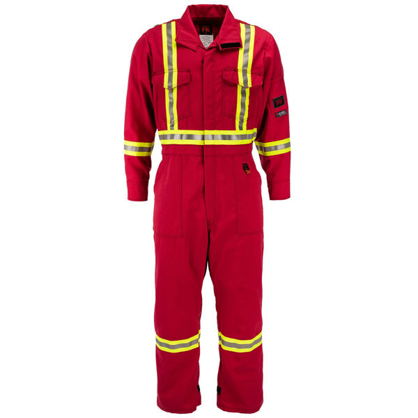 Picture of 5310C1 Deluxe Coverall - 7 oz Nomex® MHP, Unlined w 3M Scotchlite®