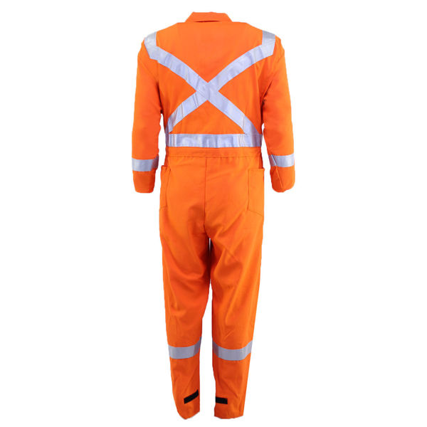 Picture of 8310C3 Deluxe Coverall - 6 oz Nomex® IIIA, Unlined w 3M Scotchlite®