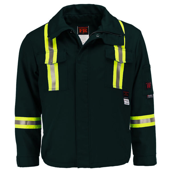 Picture of 1343SR-7 Mid Length Jacket  - 7 oz UltraSoft®, Summer Lined w 3M Scotchlite®