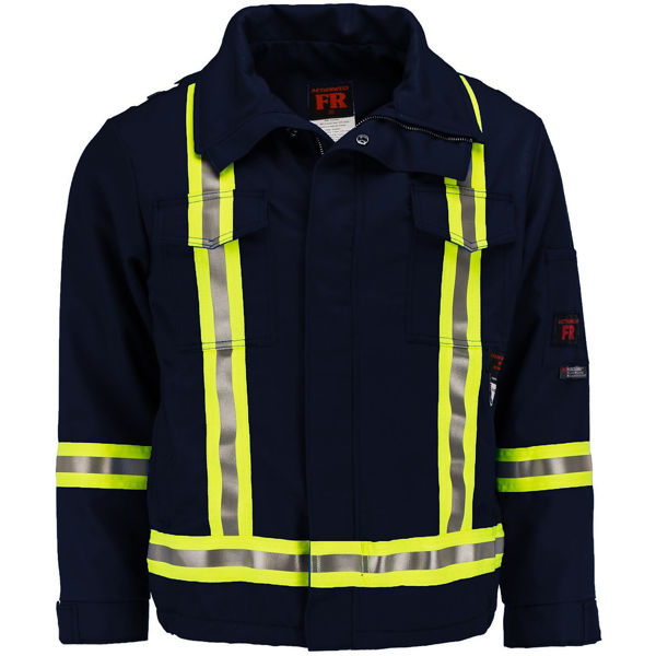 Picture of 1343SC1-7 Mid Length Jacket  - 7 oz UltraSoft®, Summer Lined w 3M Scotchlite®