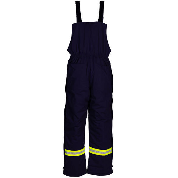 Picture of 1330CGMR Bib Pant - 9 oz UltraSoft®, Quilt Lined w 3M Scotchlite®