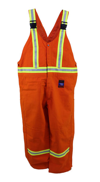 Picture of 8370VS - Bib Pant - 6 oz Coated Nomex® IIIA, Summer Lined with Trim