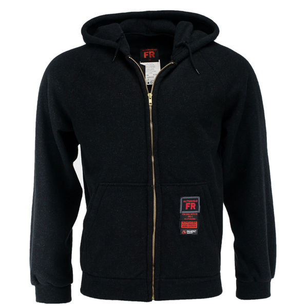 Picture of 83FW201Z - Jacket - Fleece-8.7 oz Nomex® IIIA, Double Sided Wind Resistant with Hood & Zipper