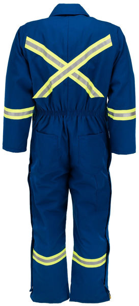 Picture of 8355MWBRO - Worksuit-6oz Nomex® IIIA,Quilt Lined w/ Nylon WindBarrier,Detachable Hood & Ontario Trim