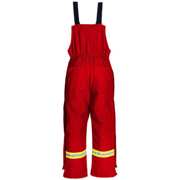 Picture of 8330MWR - Bib Pant - 6 oz Nomex® IIIA, Quilt Lined with Nylon Wind Barrier & Trim