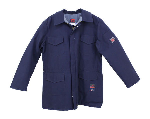 Picture of 8329DV - Parka - 6 oz Coated Nomex® IIIA, Nomex Lined with Detachable Hood