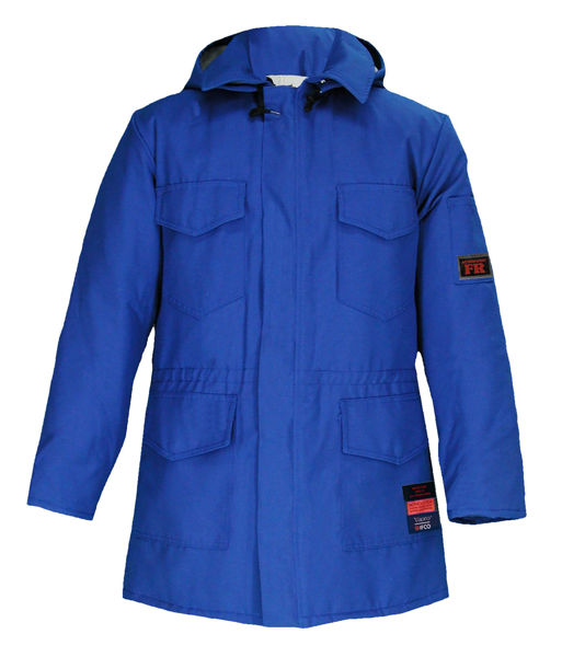 Picture of 8329DVM - Parka - 6 oz Coated Nomex® IIIA, Quilt Lined with Detachable Hood