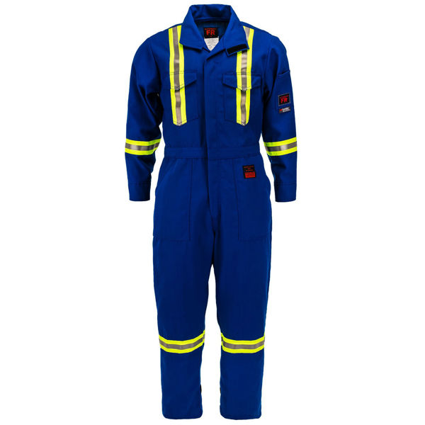 Picture of 8310R-4.5 Deluxe Coverall - 4.5 oz Nomex® IIIA, Unlined w 3M Scotchlite®