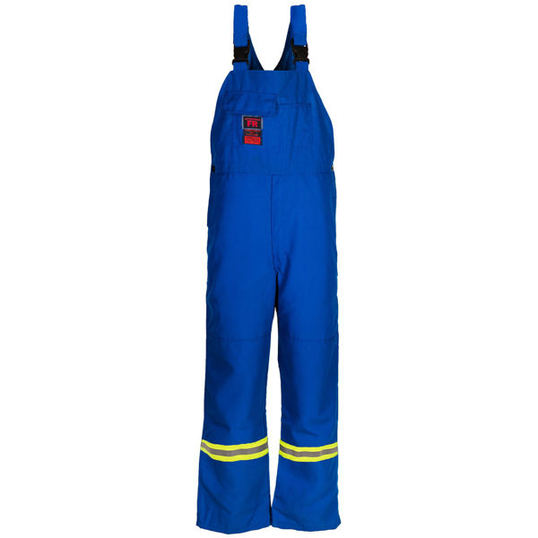 Picture of 8333R Bib Pant - 6 oz Nomex® IIIA, Unlined w 3M Scotchlite®