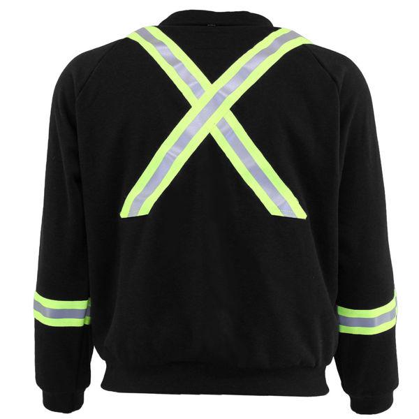 Picture of 74F13R Fleece Jacket - 12oz PyroSafe,, Wind + Water Resist w Collar, Zipper & 3M Scotchlite®