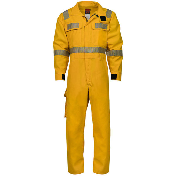 Picture of 8310RFA Forestry Coverall - 6 oz Nomex® IIIA, Unlined w 3M Scotchlite®