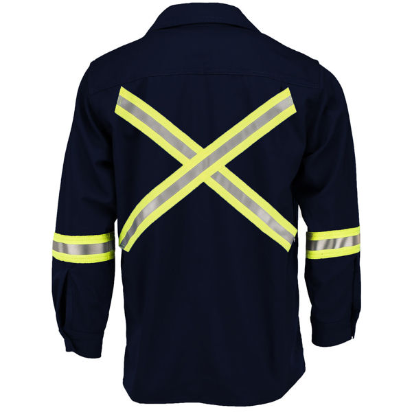 Picture of 1334R-7 Shirt - 7 oz UltraSoft®, Unlined w 3M Scotchlite®